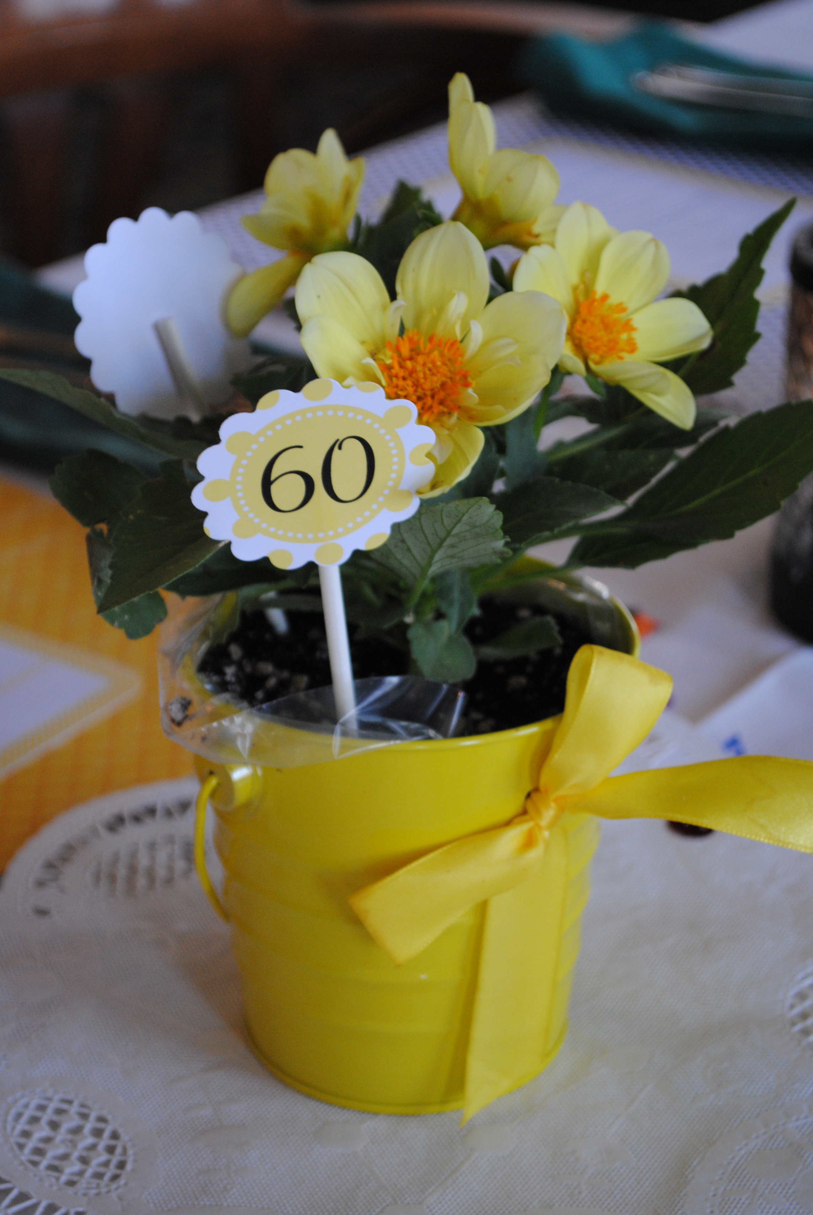 Our Parties: Bee 60th Birthday Party