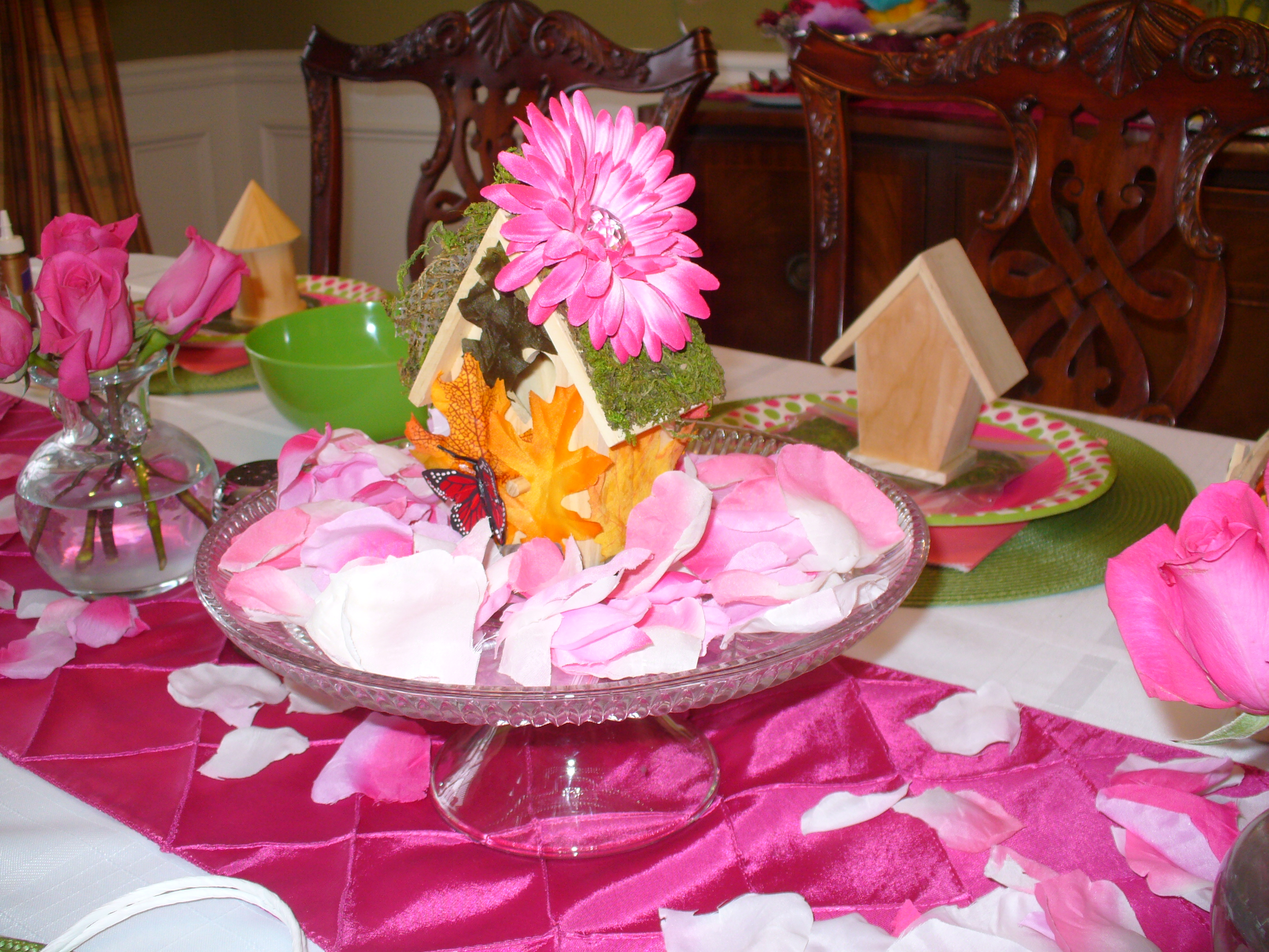 Flower fairy party double the fun parties for my twins 6th birthday izmirmasajfo
