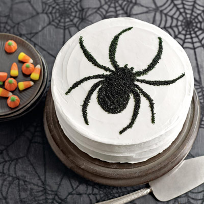 Along Came a Spider Cake