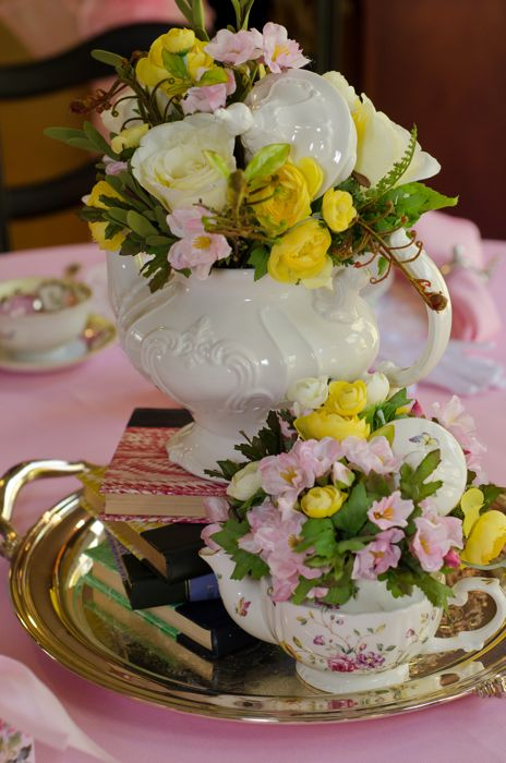 vintage tea party  u2013 double the fun parties