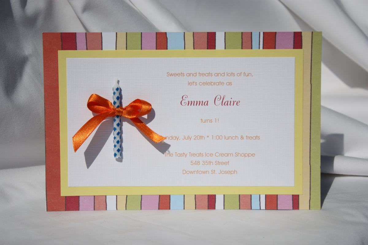 guest post  how to make your own party invitations  1st