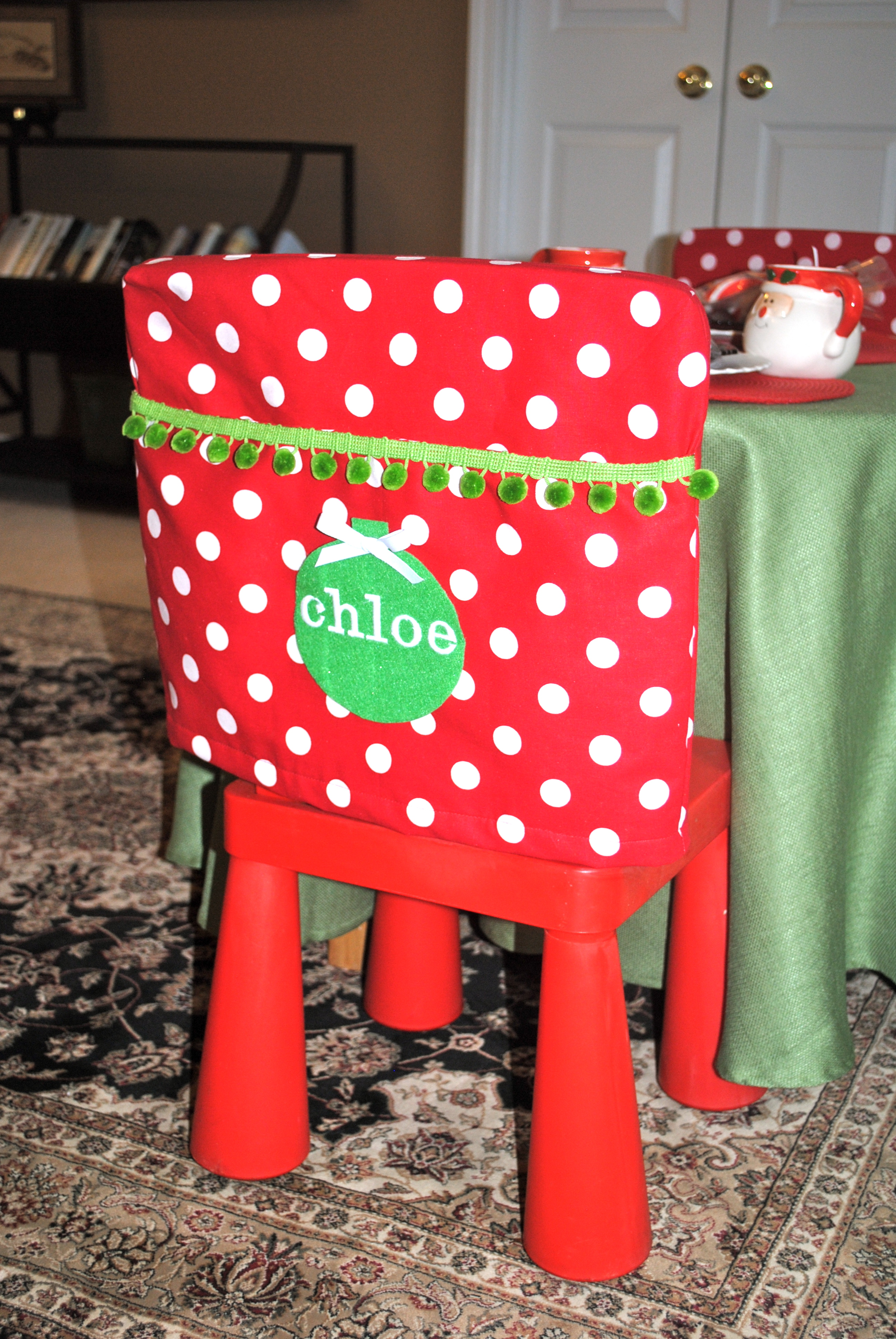 Christmas chair covers ideas - And