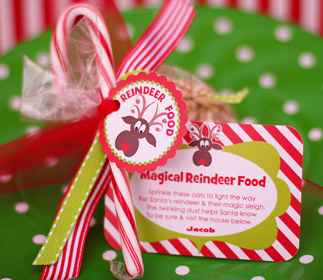 Freebie Friday: Reindeer Food Tags Free Printables
